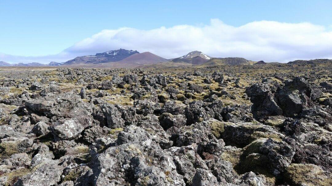 Berserkjahraun campo lava