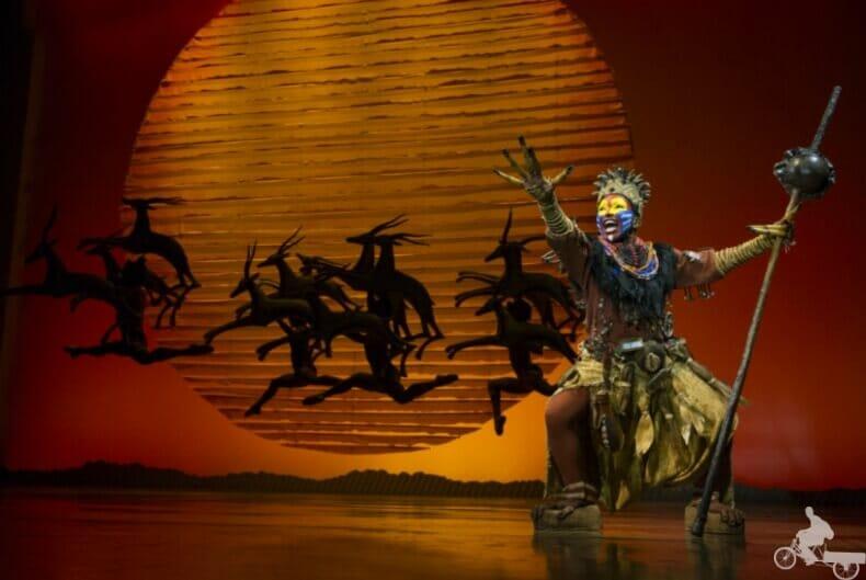 musical del rey León en Nueva York