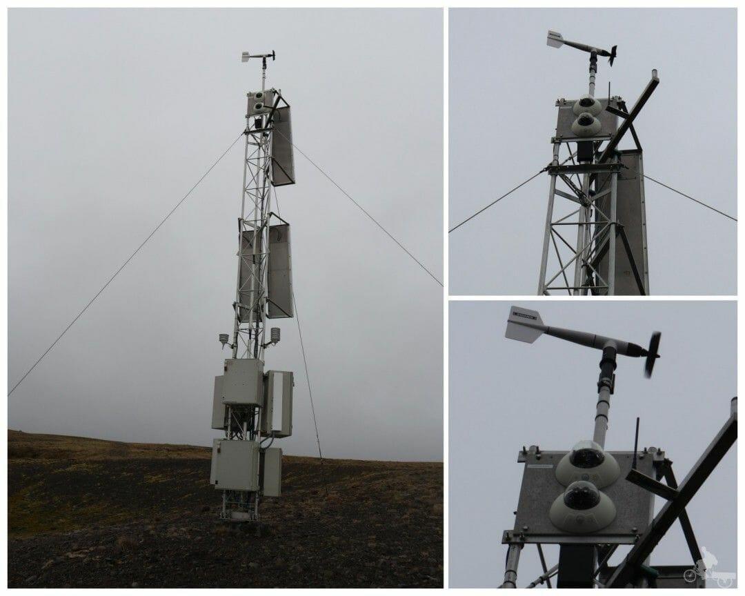 estacion meteorologica de islandia