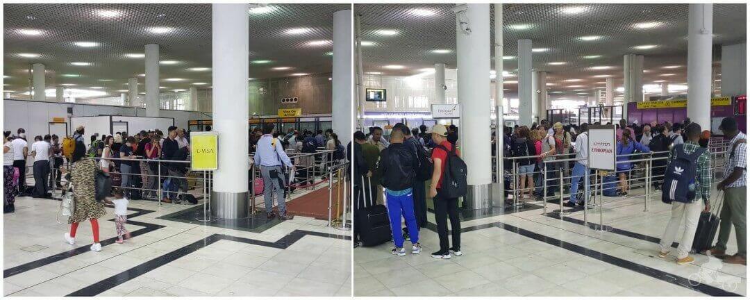 colas visado aeropuerto addis abeba