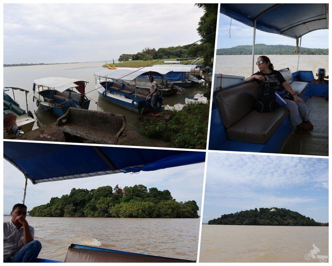 barcos lago tana
