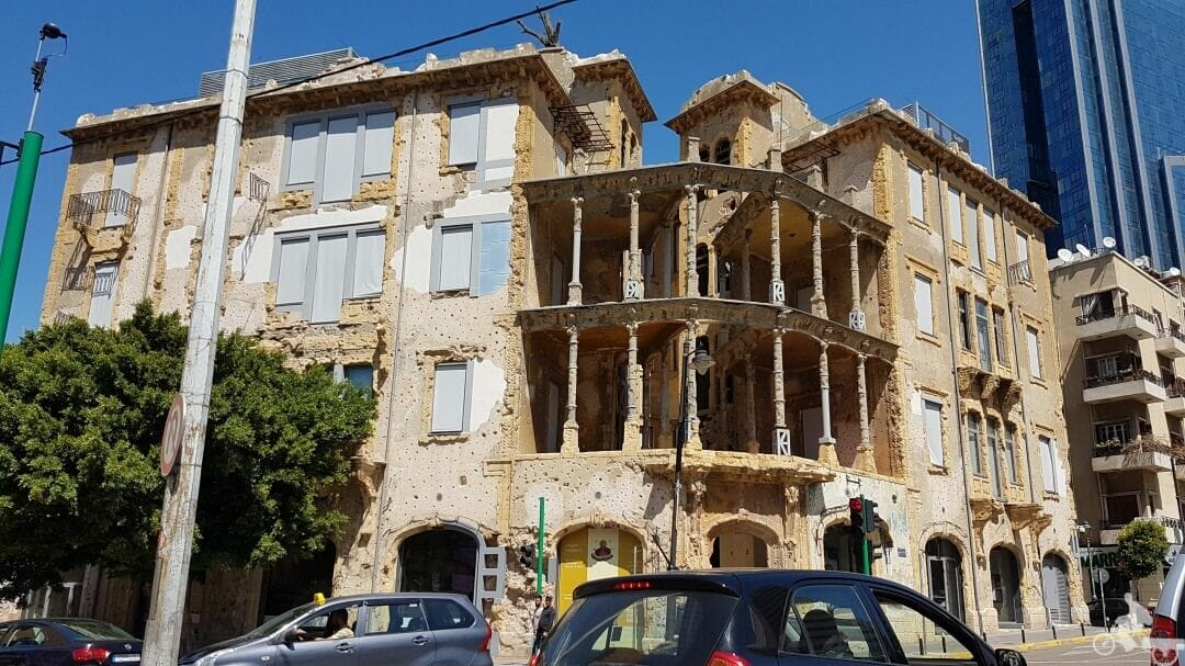 Casa amarilla de Beirut