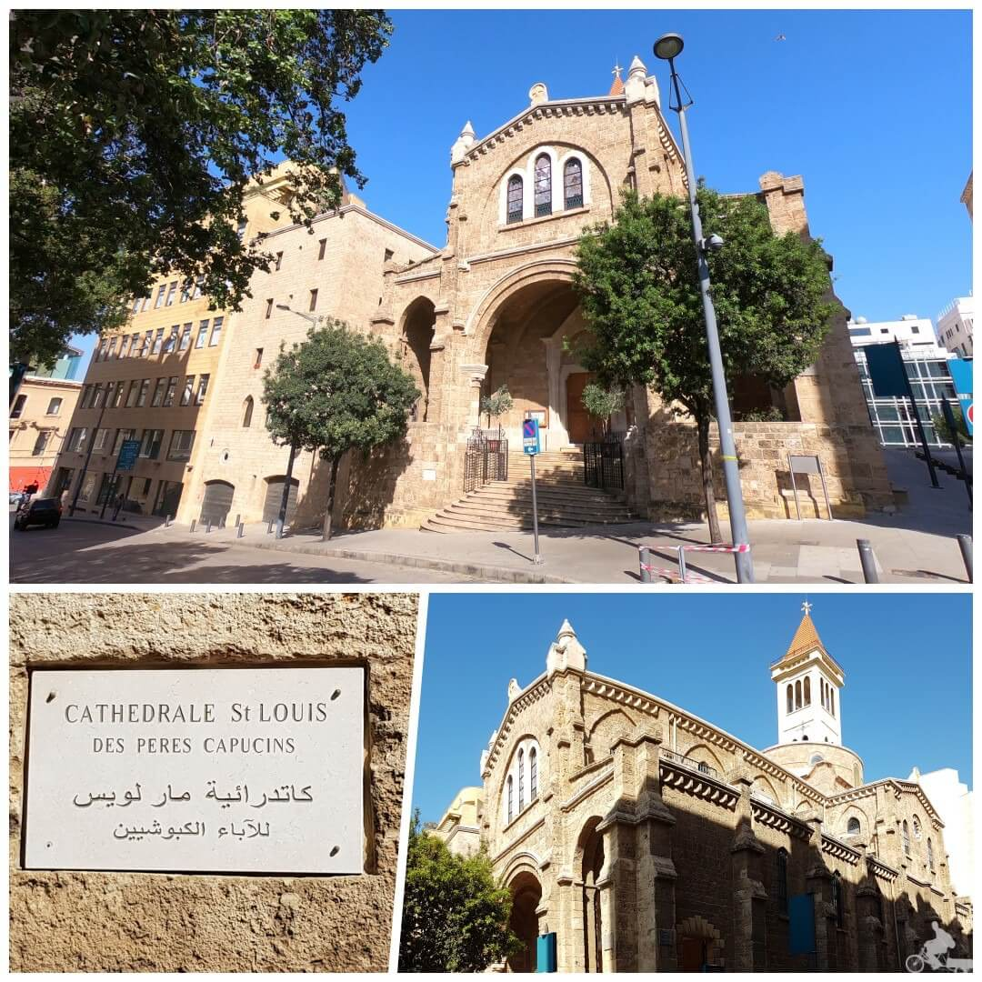 catedral st louis capuchinos beirut