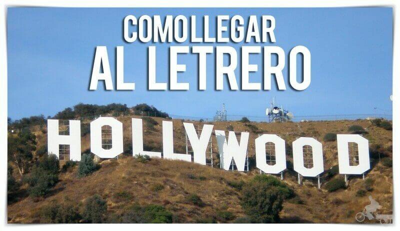como llegar letrero hollywood