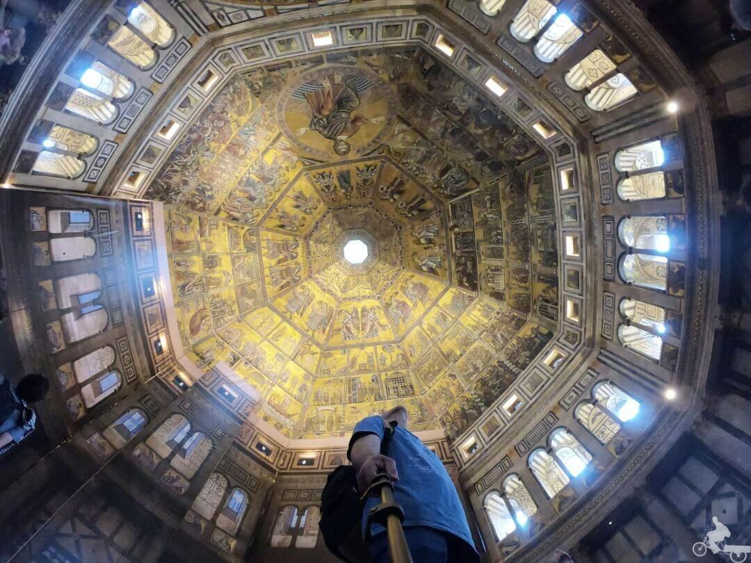 cúpula baptisterio de florencia