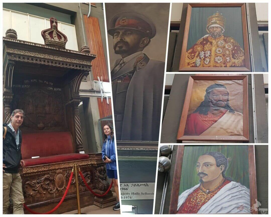 emperadores etíopes museo nacional etiopía