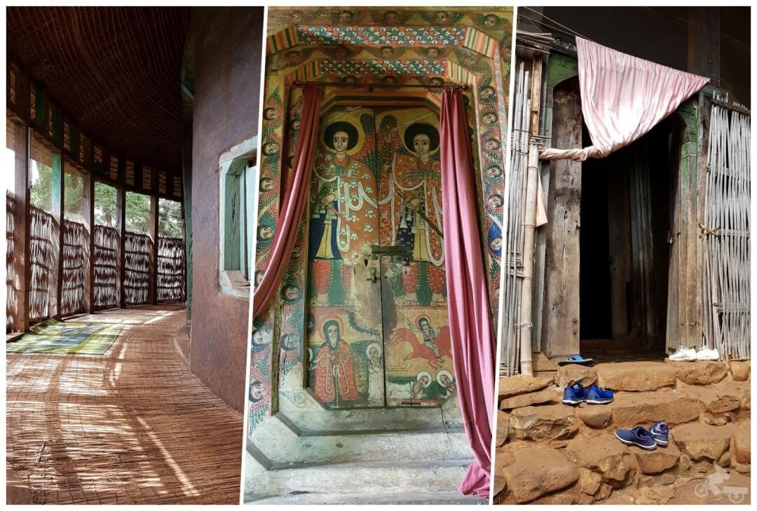 interior-Monasterio de Ura Kidane Mere