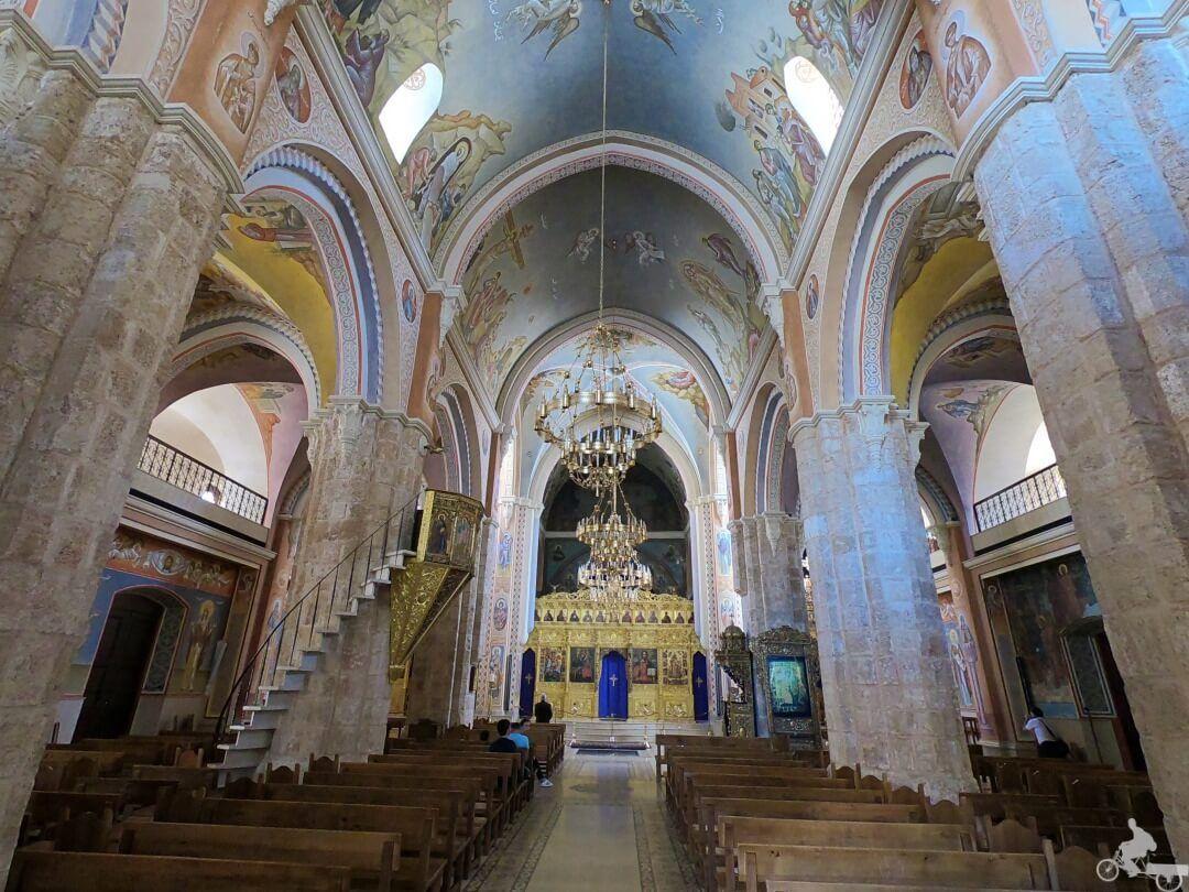 interior iglesia ortodoxa beirut