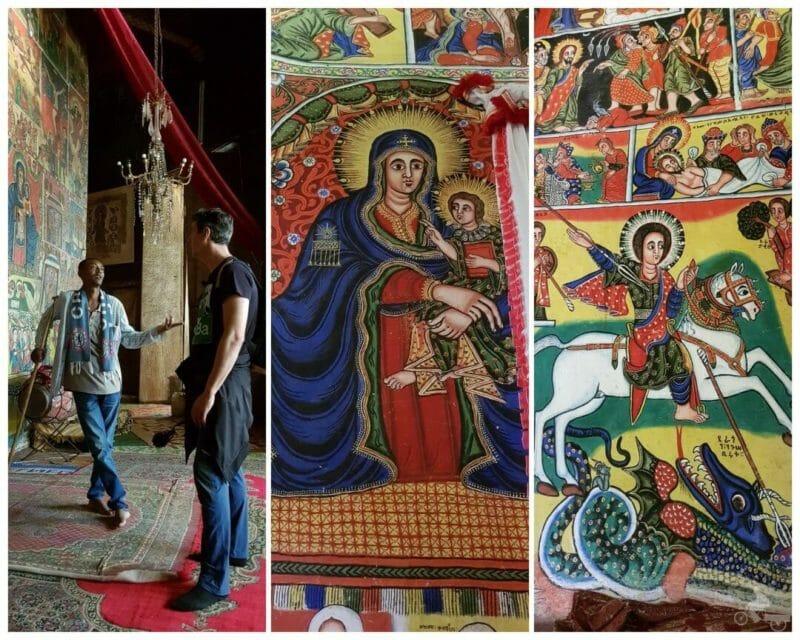lago tana monasterios pinturas