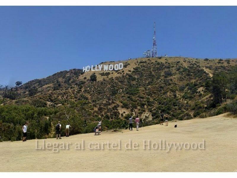 5 formas de llegar al cartel de Hollywood