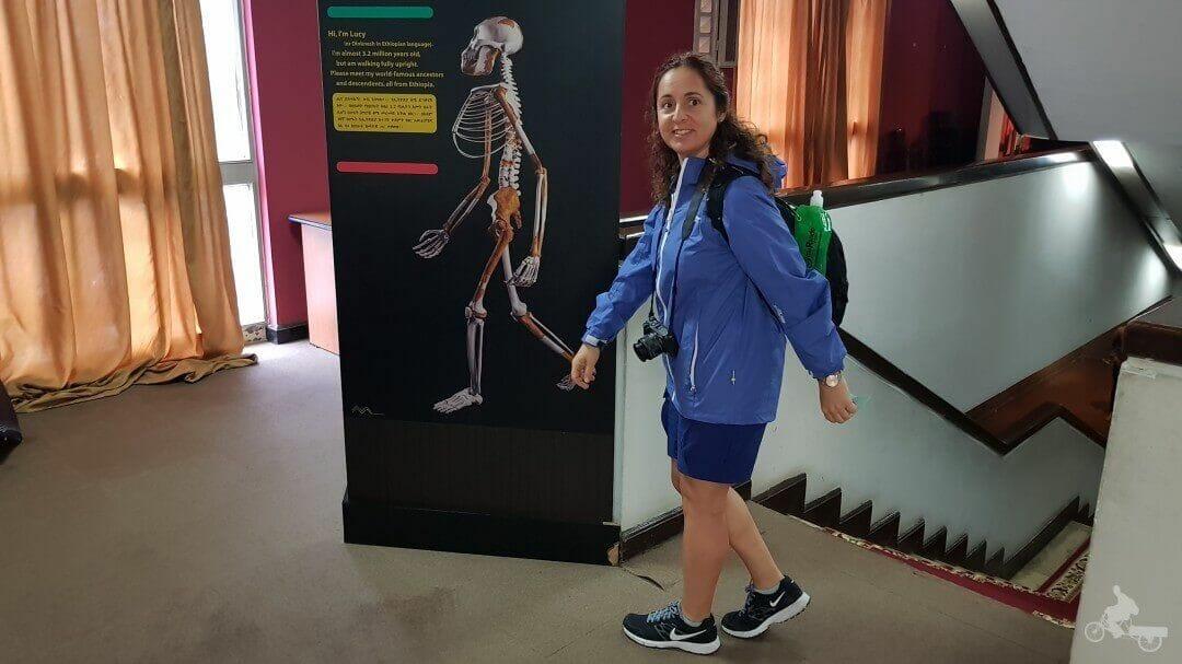 marta y lucy australopiteco