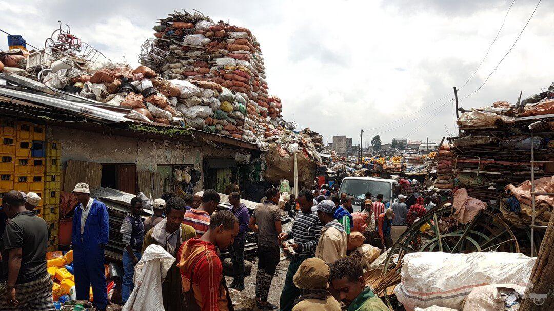 mercado adis abeba etiopia