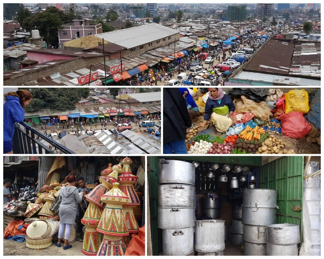 mercado aire libre adis abeba
