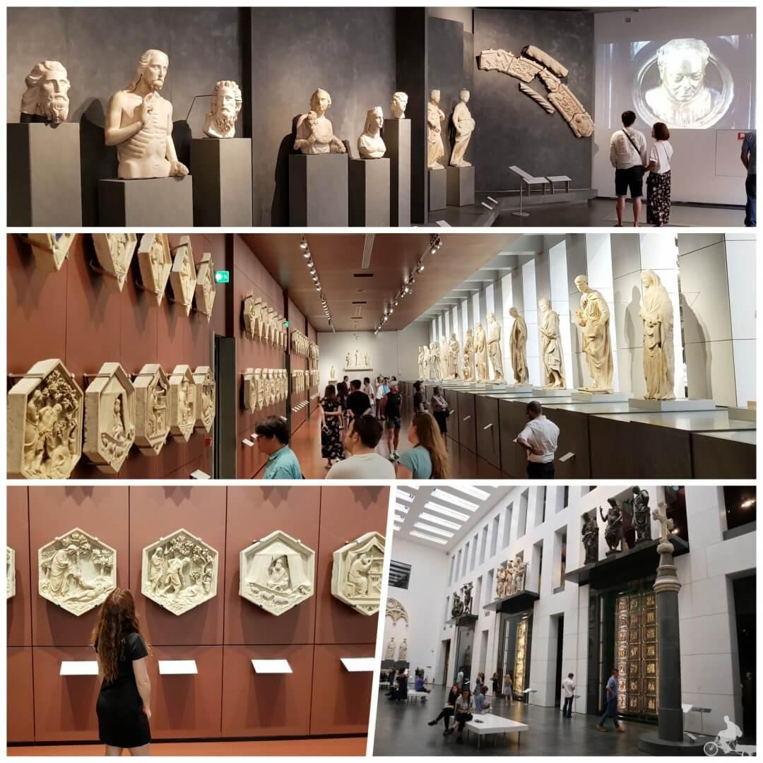 pasillos museo del duomo