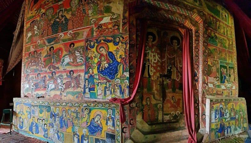 pinturas-Monasterio Ura Kidane Mere