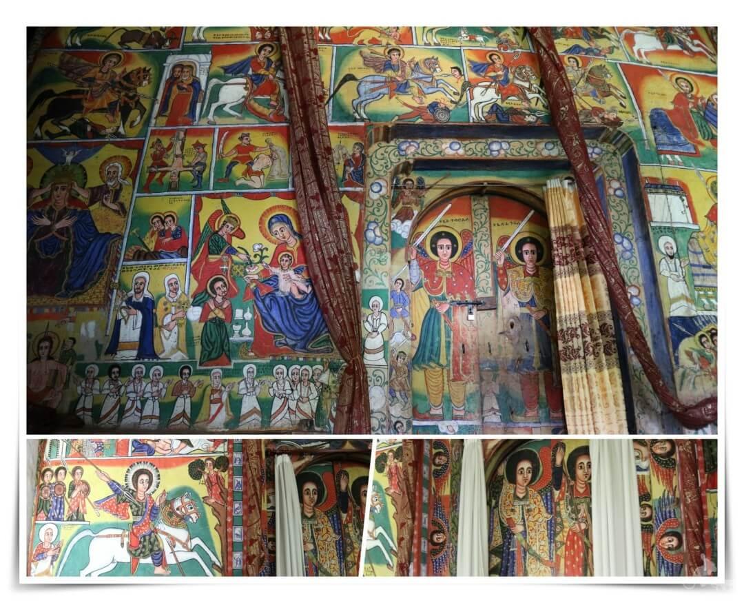 pinturas monasterio lago tana