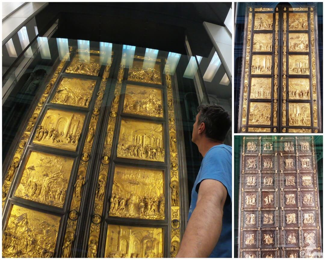 puertas-baptisterio museo catedral florencia