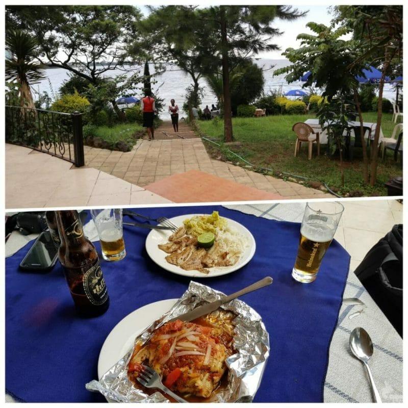 lake shore resort restaurante lago tana