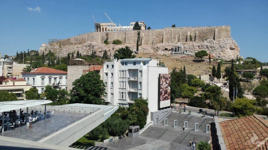 acropolis atenas partenon
