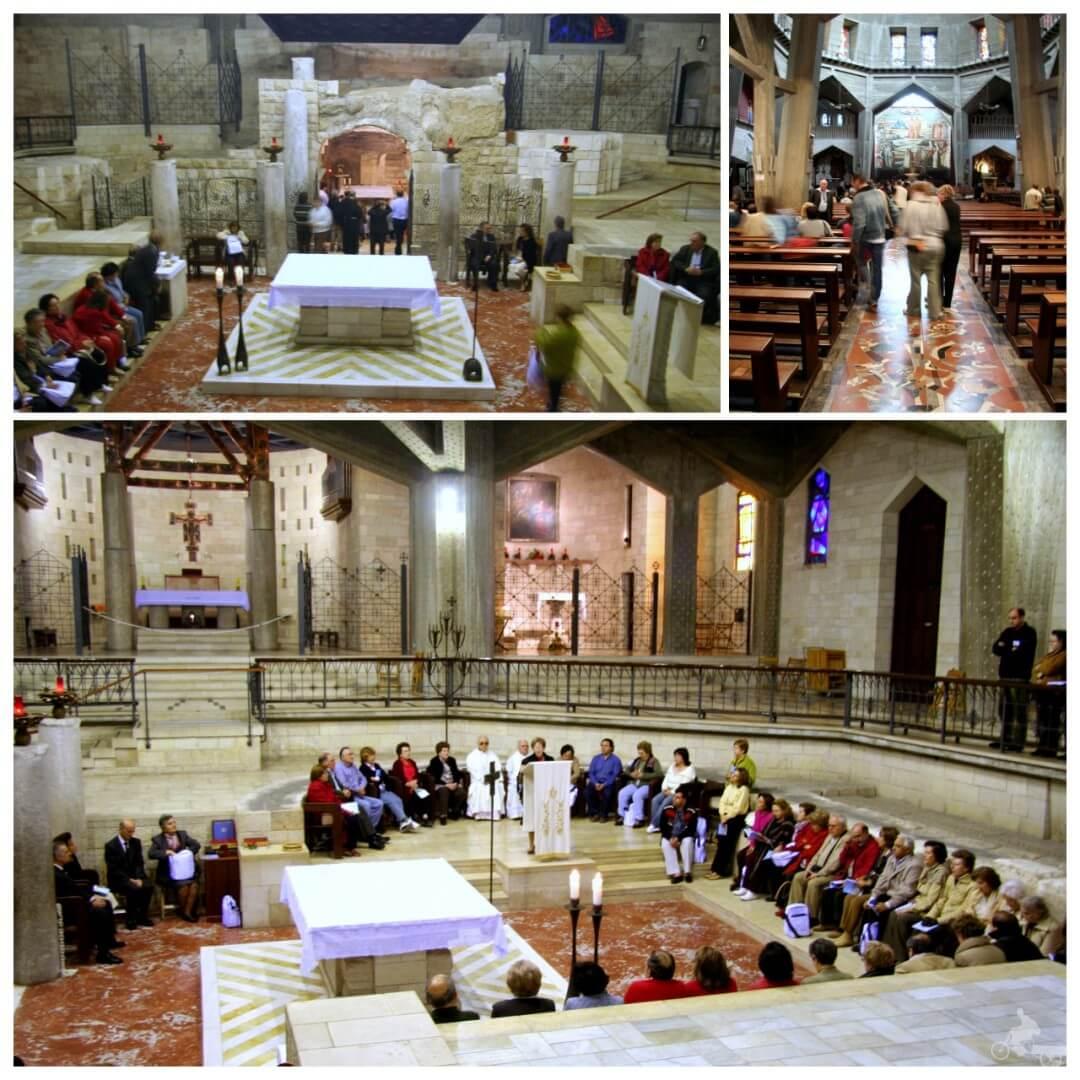 basilica iglesia anunciacion de nazareth