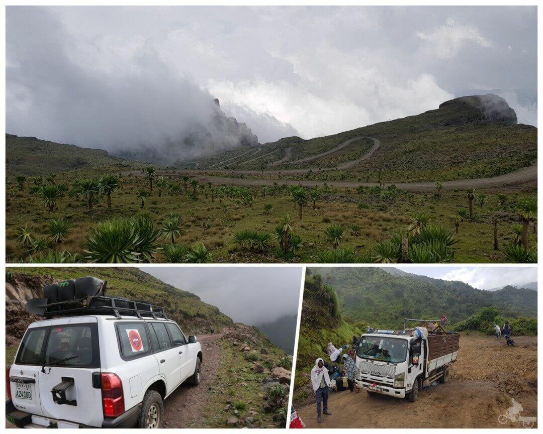 carreteras parque nacional de simien