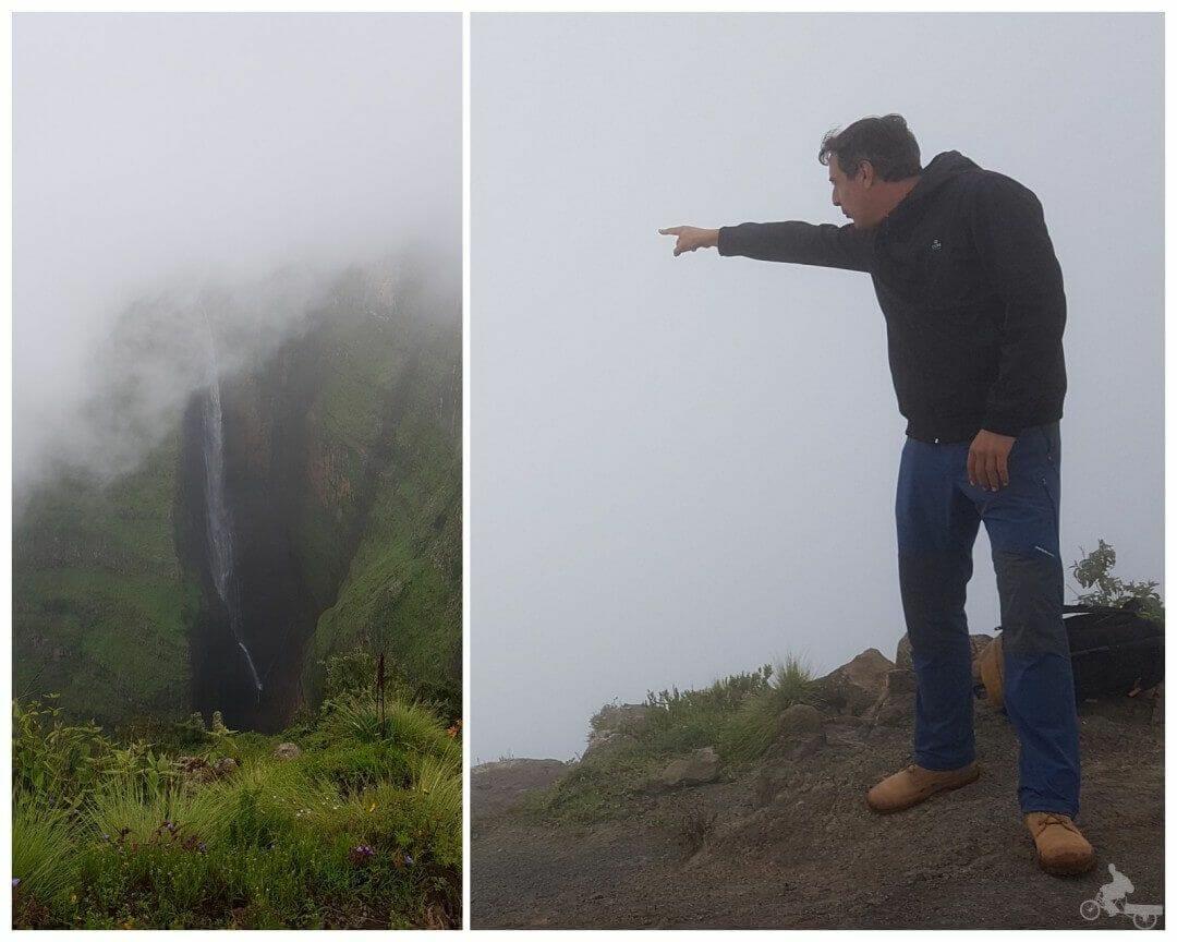 cascada Jinbar - parque nacional de Simien, Etiopía