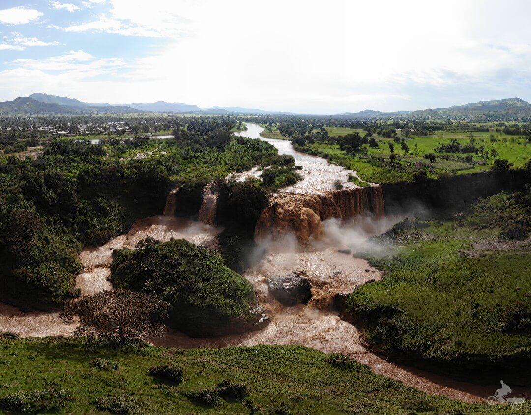 cataratas rio nilo azul etiopia