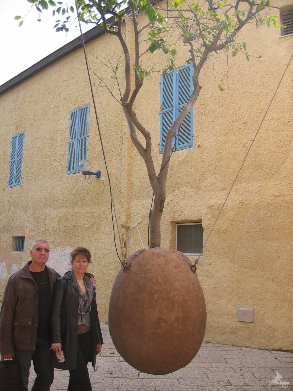 escultura piedra de jaffa