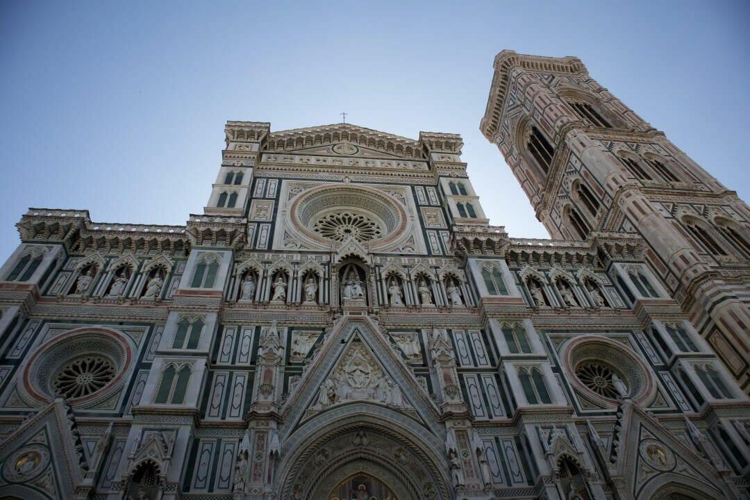 fachada catedral florencia contrapicado