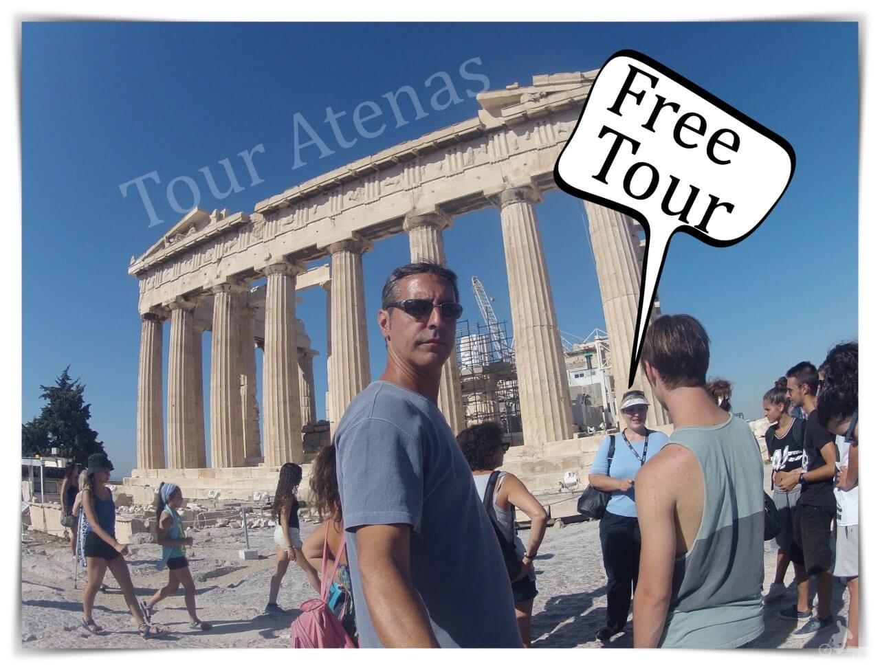 free tour atenas