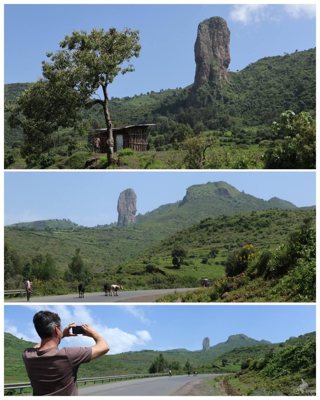 montaña rara etiopia