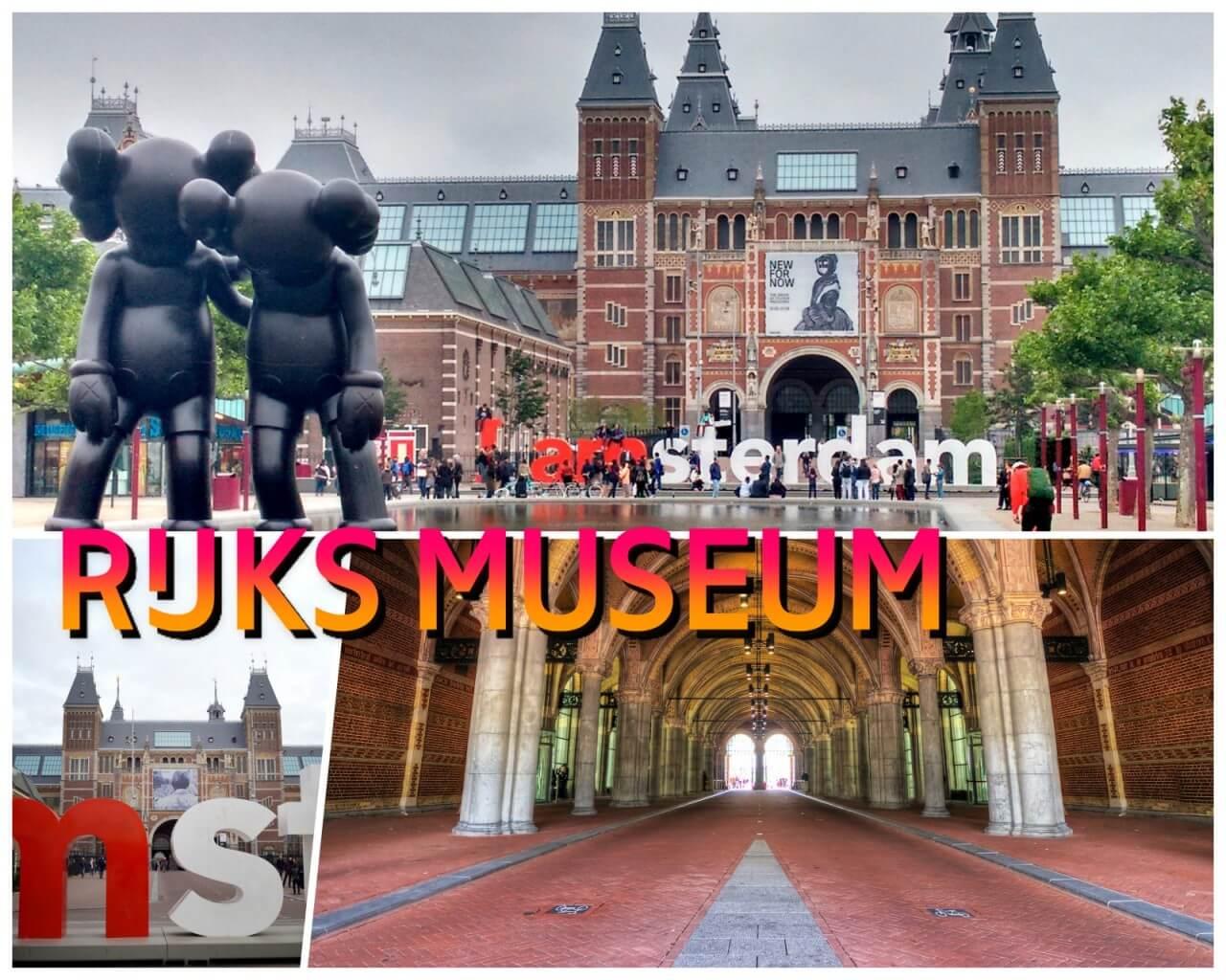 el museo Rijksmuseum Ámsterdam