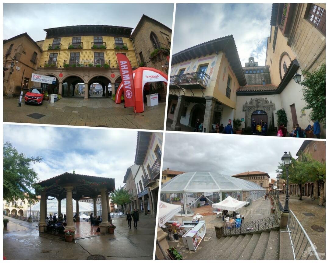 plaza mayor pueblo español