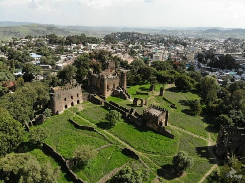 recinto real palacios gonder que ver en Etiopía