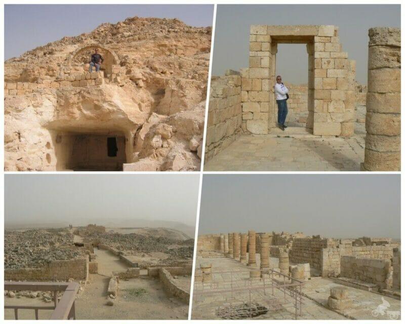 ruinas oboda israel avedat desierto del Néguev