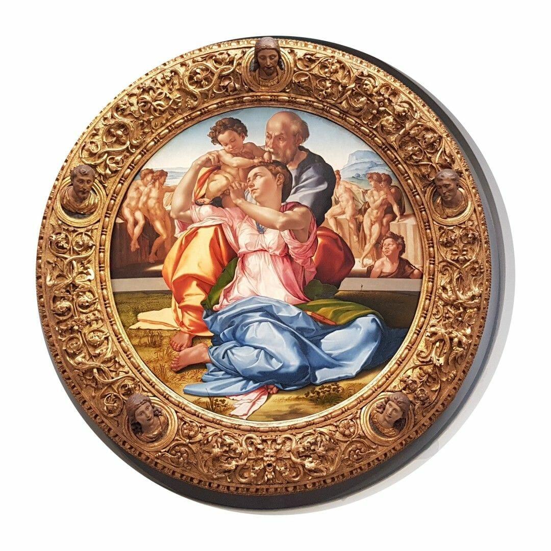 sagrada familia miguel angel