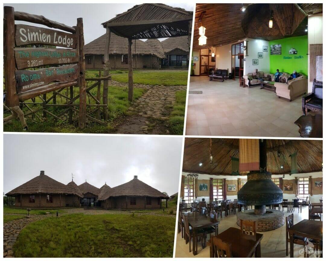 simien lodge etiopia hotel - parque nacional de Simien, Etiopía