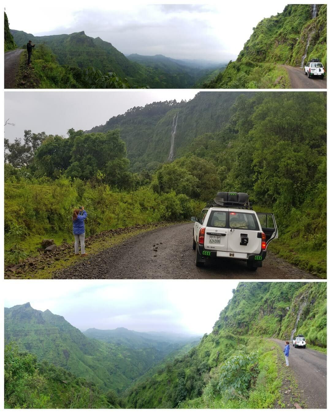cascada etiopia carretera