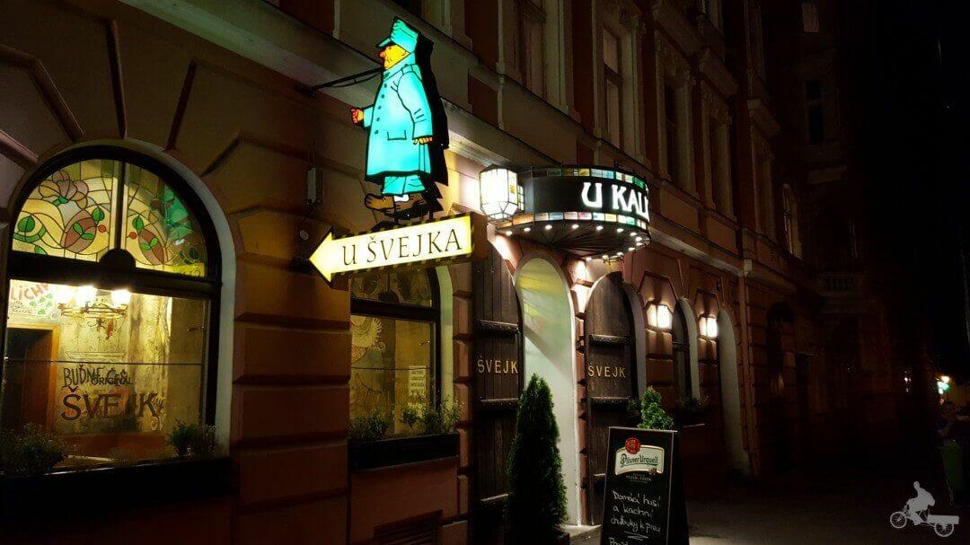 entrada cerveceria u kalicha praga svejk