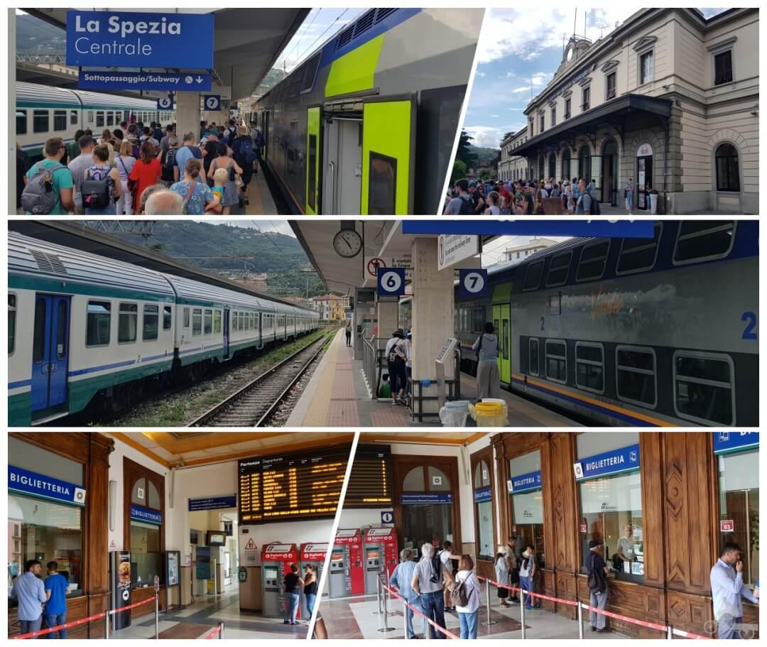 estacion tren la spezia