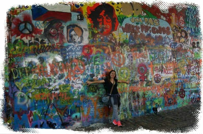 muro john lenon qué ver en Praga en 3 días