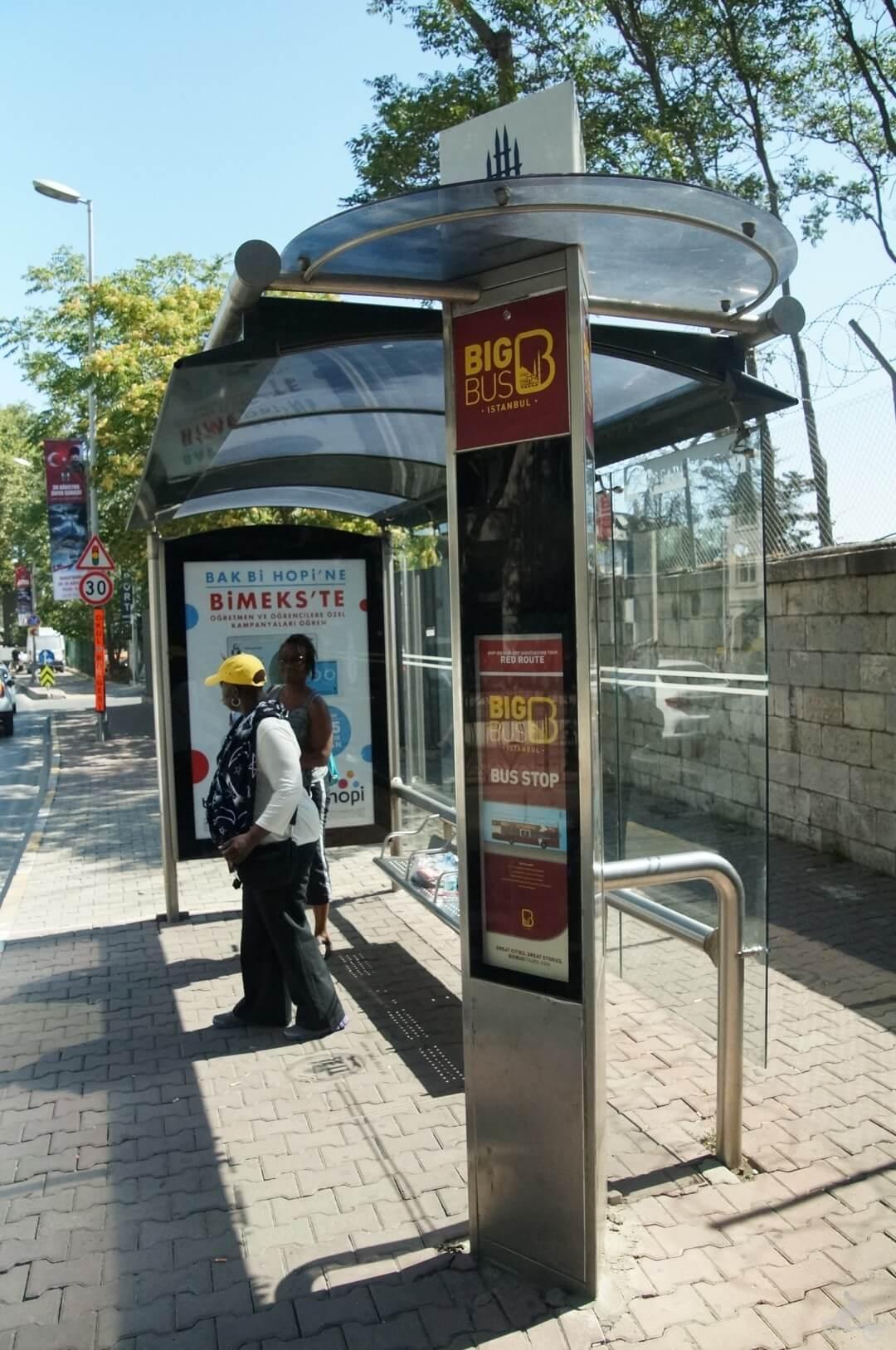 parada big bus puerto estambul bus turistico
