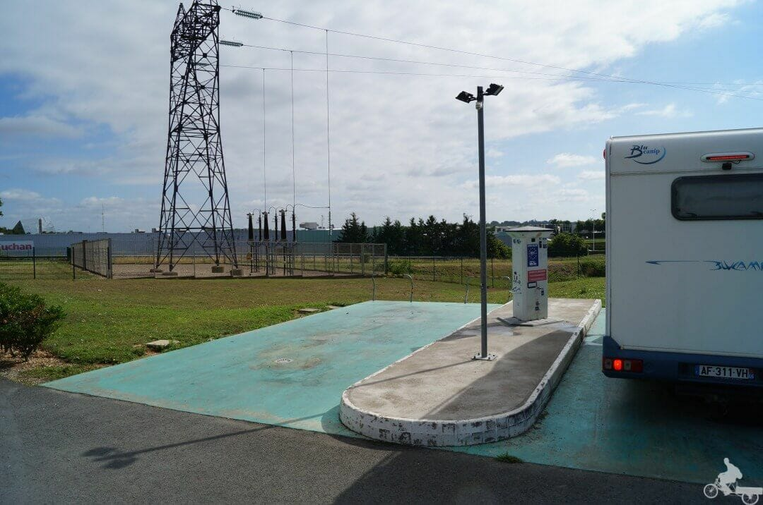 servicios parking autocaravana