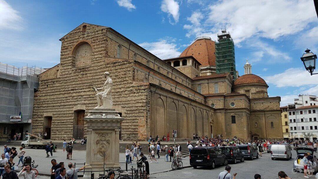 basilica san lorenzo florencia