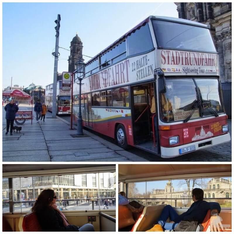 Bus turístico de Dresde