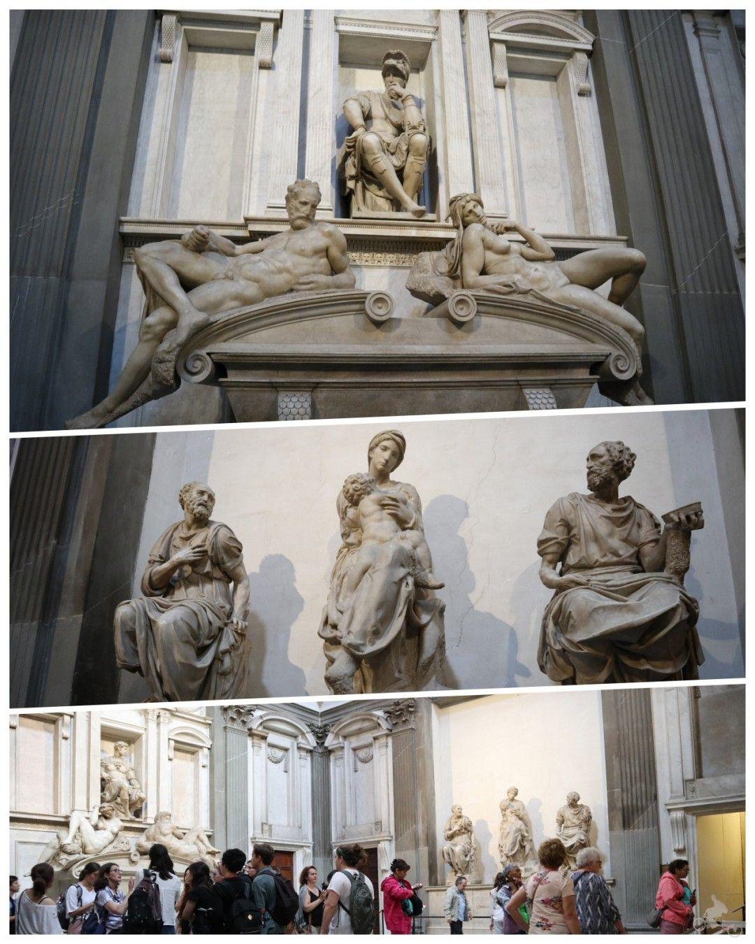 capilla medici estatuas