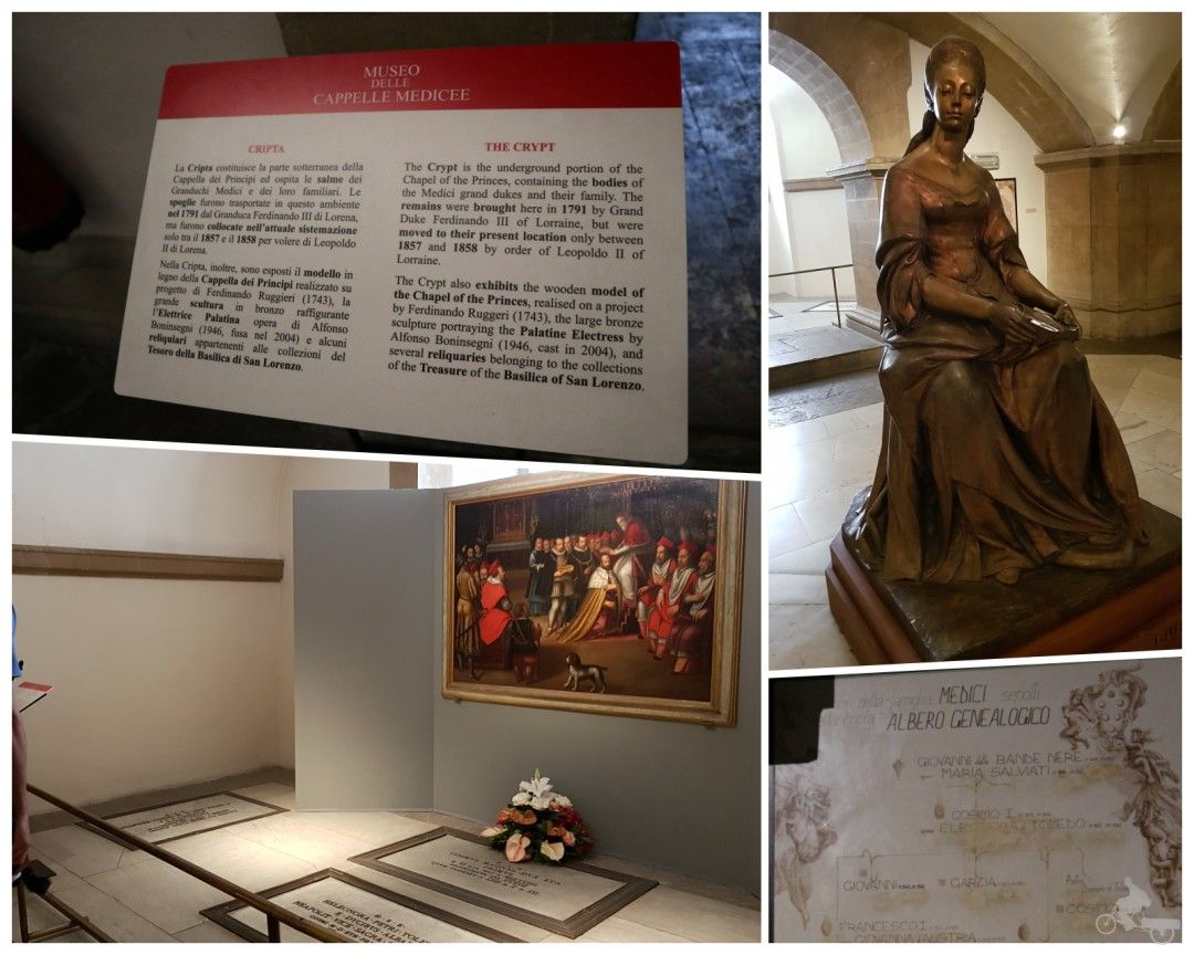 cripta capillas mediceas