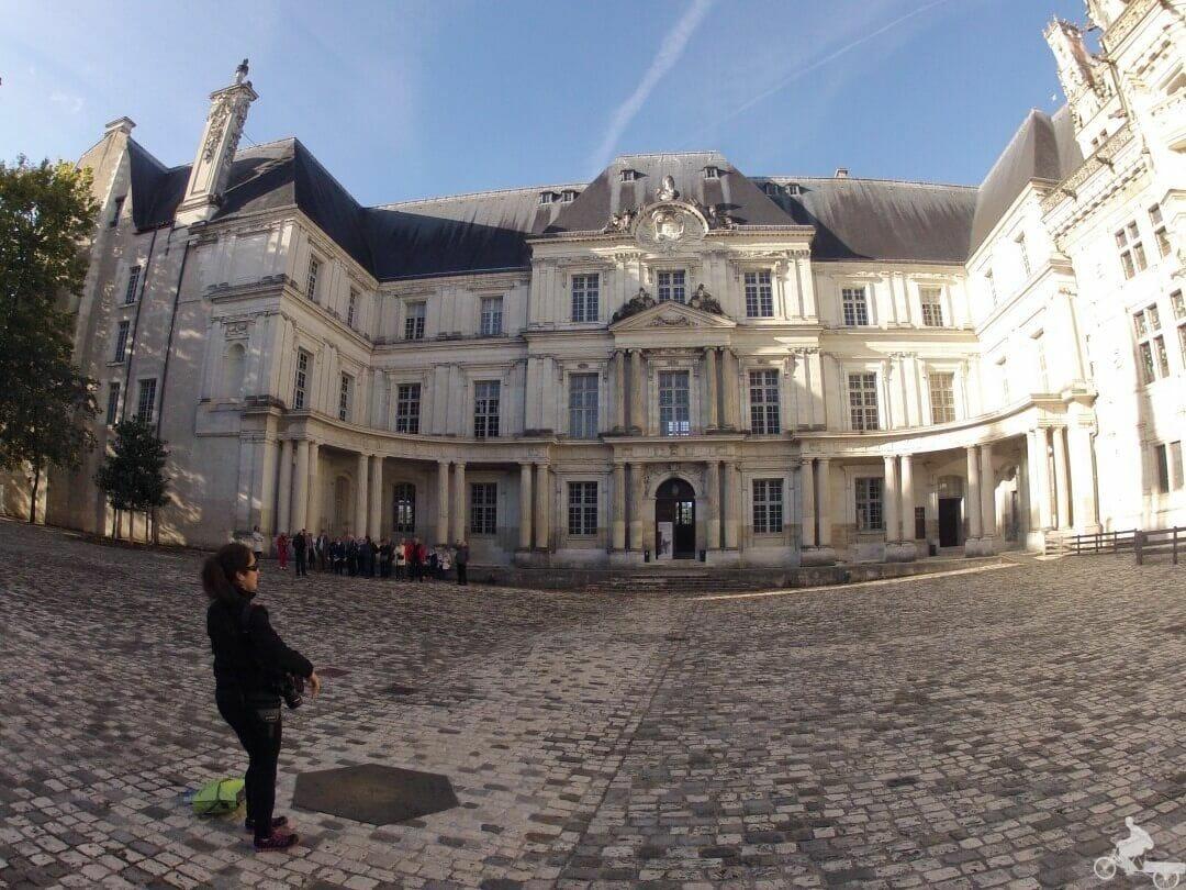 el-castillo de blois patio central