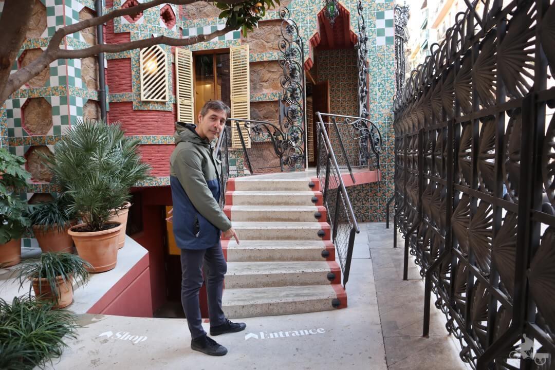 entrada casa vicens - mejores free tours en Barcelona