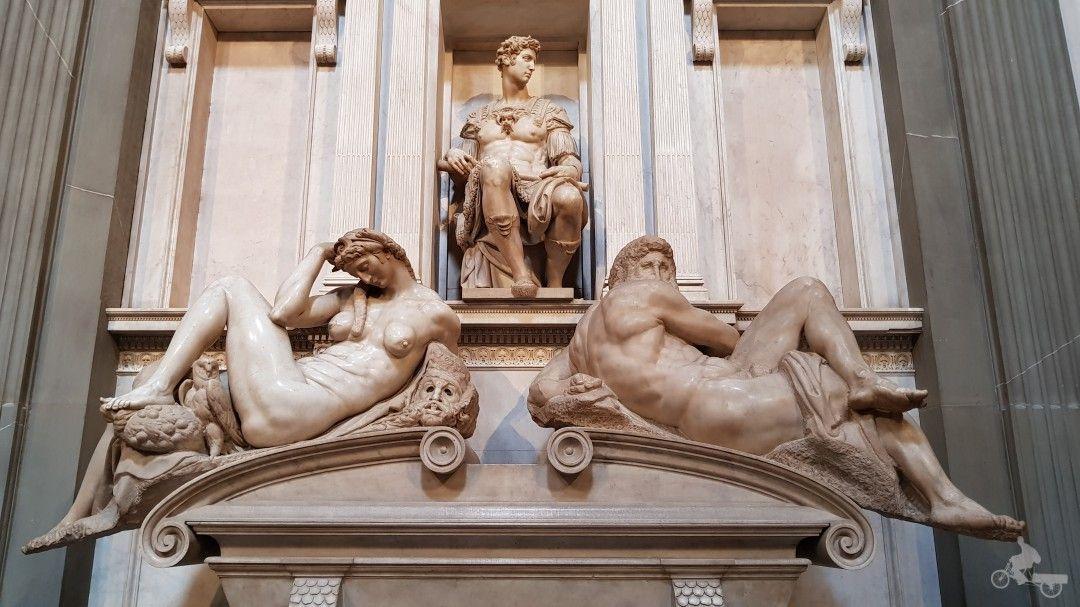 estatuas sacristia nueva capilla de los medici
